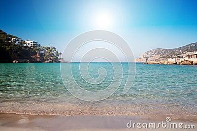 Het strand van Majorca