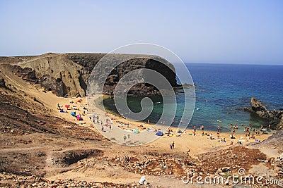 Het strand van Papagayo