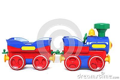 Het Stuk speelgoed van de trein