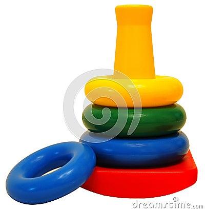 Het Stuk speelgoed van ringen