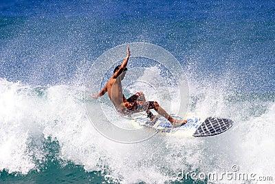 Het surfen Floater 2