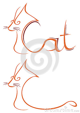 Het symbool van de kat