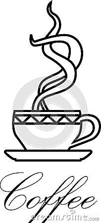 Het symbool van de koffie
