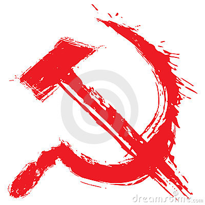 Het symbool van het communisme