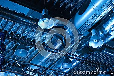 Het Systeem van de ventilatie