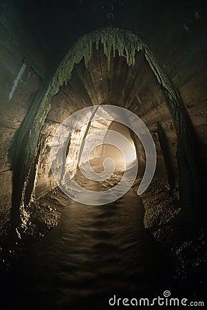 Het systeemdraai van de drainage