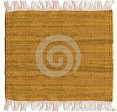 Het tapijt van de jute