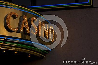 Het teken van het casino
