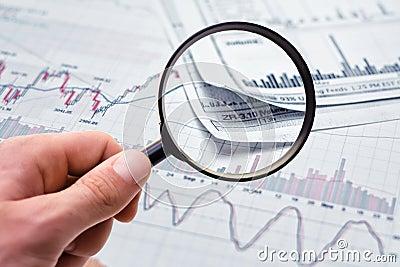 Het tonen van bedrijfsrapport