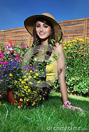 Het tuinieren concept