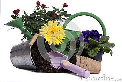 Het tuinieren Hulpmiddelen 3