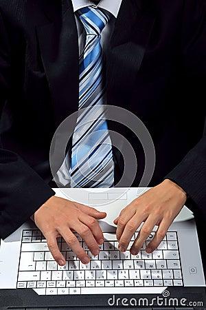Computer het typen