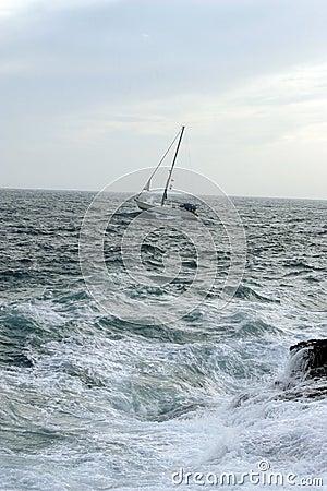 Het varen met wind