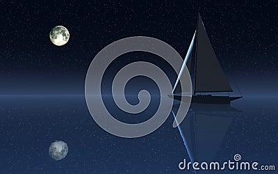 Het Varen van de Hemel van de nacht
