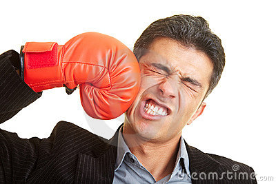 Het vechten tegen zich