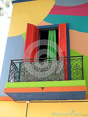 Het venster van Colourfull