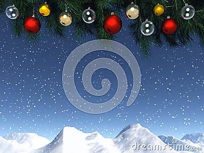 Het venster van Kerstmis