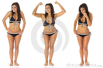 Het verliesdrietallen van het gewicht