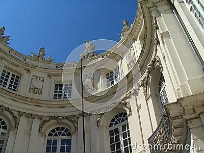 Het Vierkant van het Museum van Brussel.