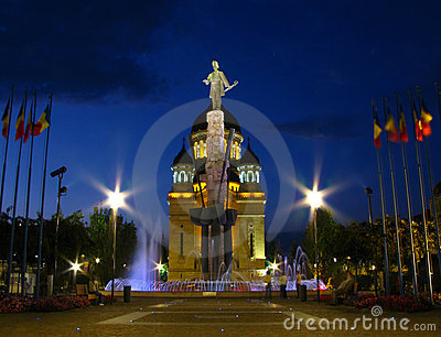 Het Vierkant van Iancu van Avram, cluj-Napoca, Roemenië 2