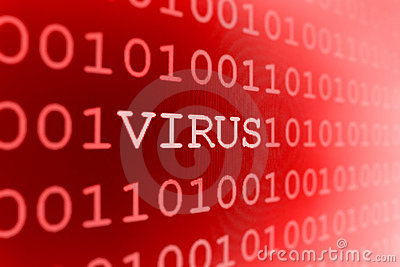 Het virus van de computer