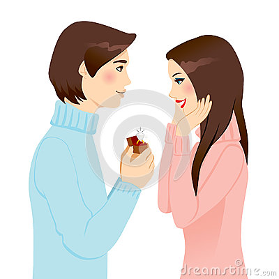 Het voorstellen van Huwelijk