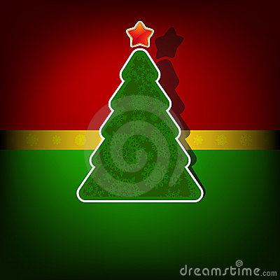 Het vrolijke malplaatje van Kerstkaarten. EPS 8