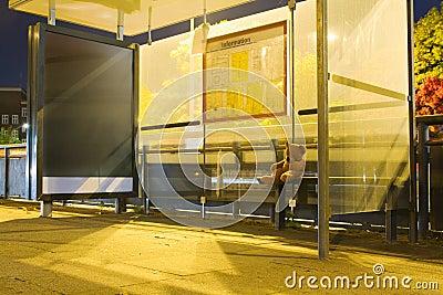 Het wachten op de bus