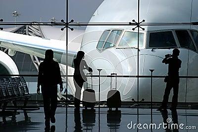 Het wachten op de vlucht