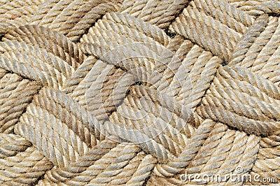 Het weefsel van de kabel.