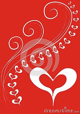 Het weefsel van de liefde