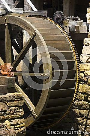 Het wiel van Watermill