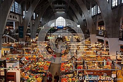 Het winkelen van de ochtend Redactionele Fotografie