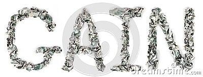 Aanwinst - Geplooide Rekeningen 100$