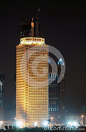 Het World Trade Center van Doubai