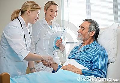 In het ziekenhuis