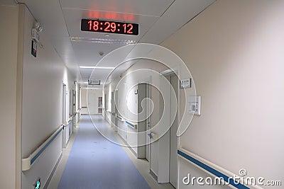 Het ziekenhuisgang
