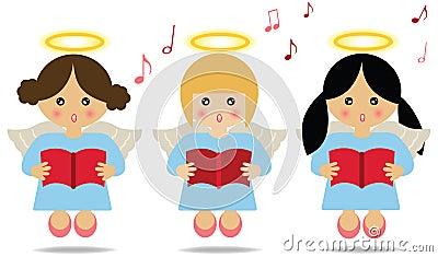 Het zingen van engelen