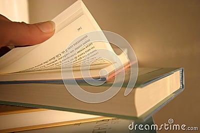 Het zoeken van de juiste pagina