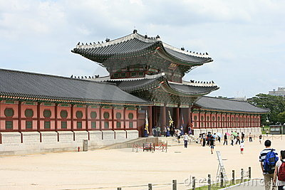 Heungryemun gate Seoul Korea Editorial Stock Image