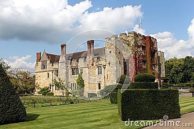 Hever Великобритания замока