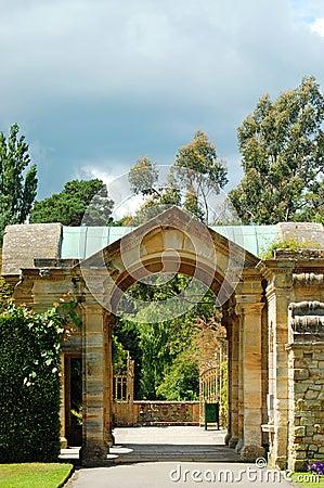 Hever castle garden Hever England