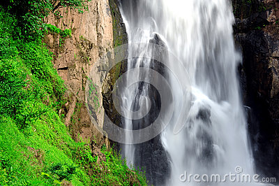 Hew Narok waterfall in Thailand
