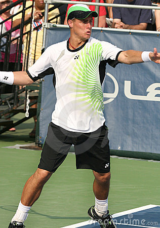 Hewitt: Professional tennis player forehand Editorial Photo
