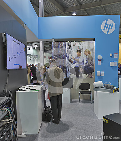 Hewlett packard company booth at cee 2015 the largest for Largest craft shows in the us