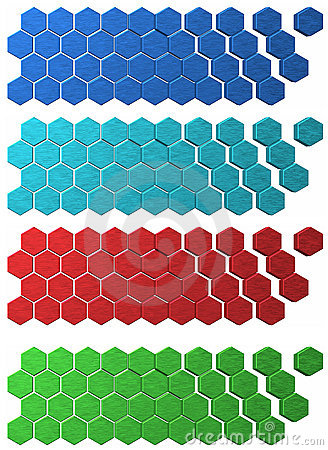 Hex Grid backdrops