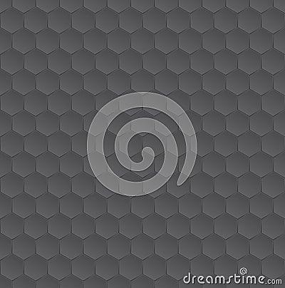 Hexagon monochrome pattern texture