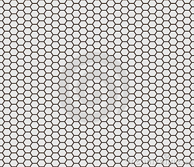 Hexagon shape tiles