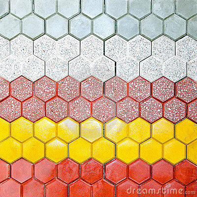 Hexagonal bricks