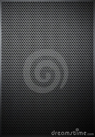 Hexagonal metal texture mesh pattern background